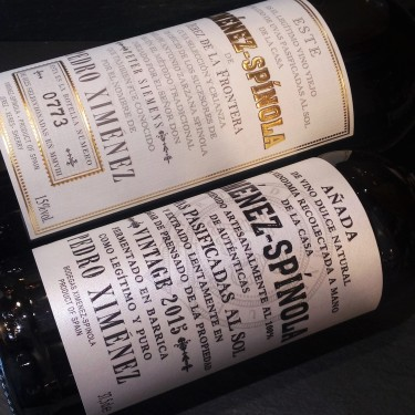 Vinos de Jerez de Ximénez-Spinola